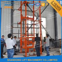 Warehouse Vertical Hydraulic Elevator Lift Manufactures