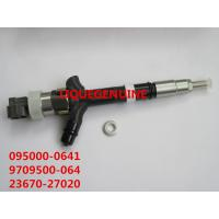 Quality DENSO CR injector 095000-0640, 095000-0641, 9709500-064 for TOYOTA 23670-27020, 23670-29025 for sale