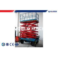 China Mobile Hydraulic Lift Table electric elevated platform Ground and aerial control on sale