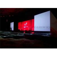 Mobile Stage Indoor LED Screen Rental P3 1R1G1B SMD2121 1000 Nits Brightness Manufactures