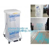 Medical consumables biohazard waste disposal supplies, LDPE plastic medical autoclave bags, Biohazard waste disposal bag Manufactures