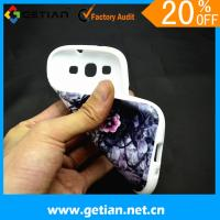 TPU Cute Case For Samsung Galaxy S3 , Anti Slip Cover Manufactures