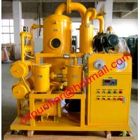 transformer oil purification and filtration device, insulation oil purifier machine Powerful vacuum efficiency Manufactures