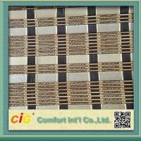 China Natural Color Roller Classical Bamboo Mat Window Blinds For Office on sale