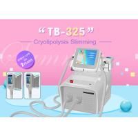 Portable Home Use Cryolipolysis Fat Freeze Slimming Machine Color Screen Operating Manufactures