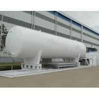 ASME Vertical Big ISO Tank Container Cryogenic Storage Vessels Long Service Life Manufactures