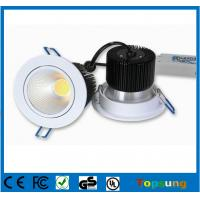 China 10W Low MOQ round cob led dimmable downlight on sale