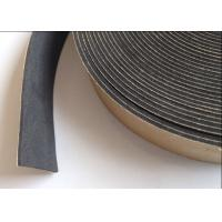 Black Color EVA Self Adhesive Foam Tape For Steel / Metal / Machine / Car Manufactures