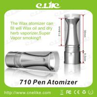 China 710 Pen Huge Vapor Unique Design Wax Atomizer with a Funnel to Burn Wax / Oil / Tobacco on sale
