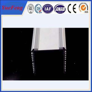 extruded aluminium special profile 6061/6063/6082, aluminum radiator fins factory Manufactures