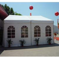 China Steel Frame Material Commercial Party Tent With Special Roof Flexible Poles on sale