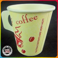 Disposable Paper Coffee Cup with handle for Wholesale