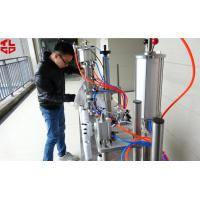 Semi Automatic 3 in 1 Aerosol Filling Machine for Insecticide Pesticide Sprays Pneumatic Drive Manufactures