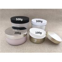 China Large Volume Plastic Jar Containers PS / PP / PETG Material Basic Round Shape on sale