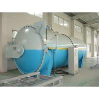 Composite Automatic Glass Industrial Autoclave Pressure Vessel , High Efficiency Manufactures