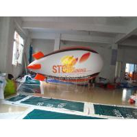 Total Digital Printed Advertising Helium Zeppelin Balloons with Lighting for Opening event Manufactures