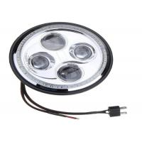 China High / Low Beam Harley Davidson Led Headlights With DRL And Angel Eyes wholesale