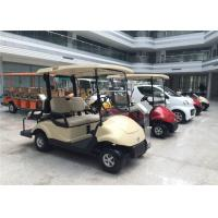 Club Car 4 Seater Golf Carts Dongfeng , Street Legal Electric Cars 3KW Motor Manufactures