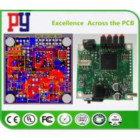 2 Layer Pcb Circuit Board , Surface Mount Pcb Assembly Immersion Gold Surface Finishing Manufactures