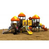 ISO9001 Outdoor Playground Equipment With Aluminum Alloy Anti UV Manufactures