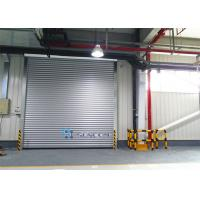 China Grey White 304 Stainless Steel Frame Industrial Security Door Outside on sale