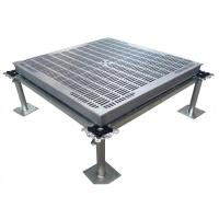 China Computer Access Flooring Aluminum Floor Panels Strong Loading Performance on sale