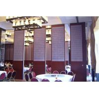 China Operable Folding Soundproof Sliding Partition Wall For Banquet Hall  Multi Color on sale