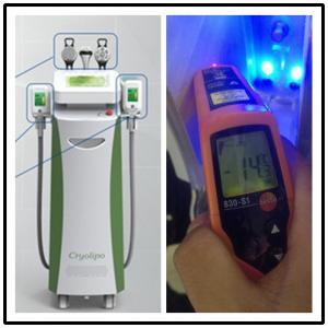 Cryolipo multifunctional ultrasonic Cavitation RF body slimming Cryolipolysis machine Manufactures