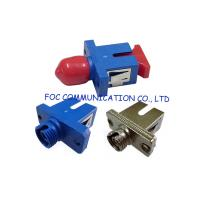 Low Insertion Loss Fiber Optic Adapter / Ftth And Fttx Sc To St Adapter Manufactures