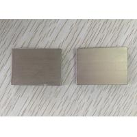 High Power Chamfering N40 Neodymium Block Magnets For High - End Speakers Manufactures