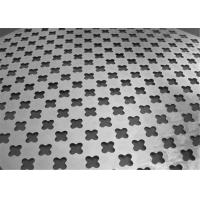China Popular Cold Rolled Steel Cross PatternsPerforated Metal Sheet  on sale