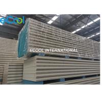 Thermal Insulation Pu Sandwich Panel , Insulated Cold Room Pu Panel Manufactures