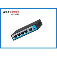 Commercial 60W POE Ethernet Switch 4 Port 100 Meters Data Transmission Distance Manufactures
