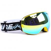 Quality UV400 Protection Men & Women Mirrored Ski Goggles Frameless Interchangeable Lens for sale