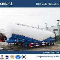 tri-axle 84 tons cement bulk trailer without motor Manufactures