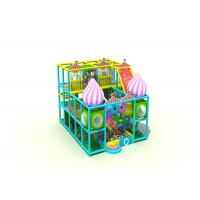 Candy Style Residential Kids Indoor Playground Equipment 3 Floors KP181031T Manufactures