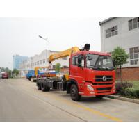 China Dongfeng 6*4  tianlong 10 ton truck mounted crane (CLW5250JSQ3) for sale, best price DONGFENG xcmg 10tons truck crane on sale