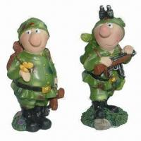 Polyresin Bobble Head Figurines, Hand-painted, Customized Designs Welcomed, Meet CPSIA Standard Manufactures