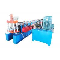 Galvanized Steel Door Frame Roll Forming Machine Cr12 Cutter Material Manufactures
