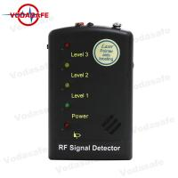 China Analog / Digital Switch Wireless Signal Detector Mini Portable RF Signal Detector on sale