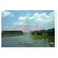 China Straight Spray Floating Pond Fountain , Dancing Water Fountain Equipment on sale