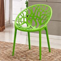 China Breathable Hollow Kids Plastic Chairs High Safety For Restaurant / Hotel on sale