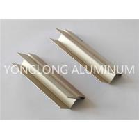 Semi - finished Aluminium Extrusion Profile No aging , Fading Or Falling Off Manufactures