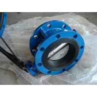 China CL150/PN16 CAST IRON GG25/GGG40 NBR/EPDM Rubber Wafer / Double Flanged BUTTERFLY VALVE on sale