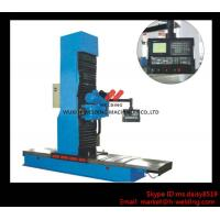 Carbon Steel Vertical End Face Milling Machine with Siemens Electric / Mechanical Feeding Manufactures