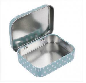 60x49x17mm Small Tin Boxes Condom Tin Box Mini Tin Box Mint Tin Can Metal Tin Canister Manufactures