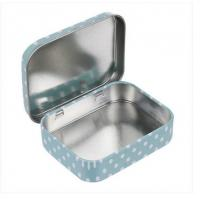 60x49x17mm Small Tin Boxes Condom Tin Box Mini Tin Box Mint Tin Can Metal Tin Canister Manufactures