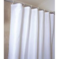 Quality Plain White Shower Curtain for sale