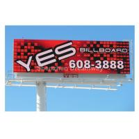 Full Color Outdoor LED Billboard Double Sided Advertisement , 16mm Commercial LED Display