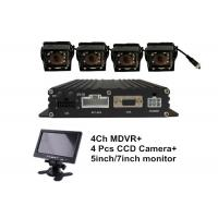 4 Ch FHD D1 H.264 Vehicle Security Camera System Kit with Car camera lcd monitor Manufactures